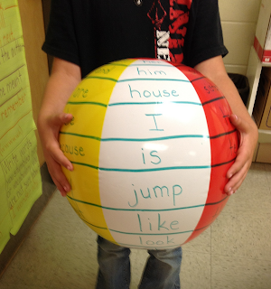 Beach Ball Sight Words