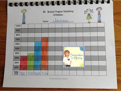 RTI Binders and Graphs for Teachers and Students