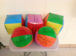 Comprehension Cubes and Beach Balls