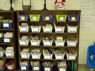 leveled classroom library organization