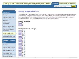 fluency assessments for RtI