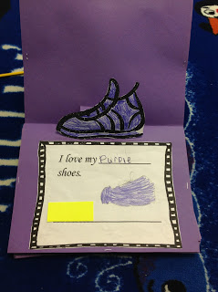 Pete the Cat Popup Book and Shoe Graph