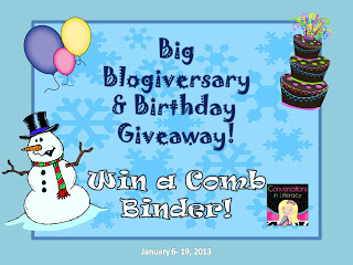 Blogiversary & Birthday Giveaway!