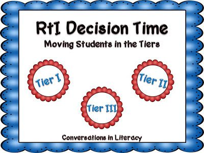 Moving Students Through the Tiers