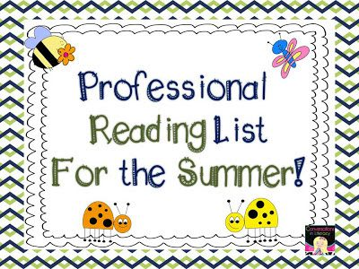 Summer Professional Reading List