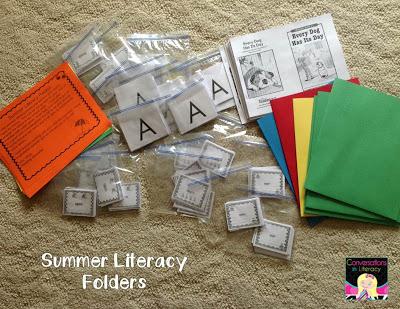 Literacy Packs