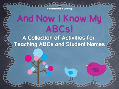 And Now I Know My ABCs