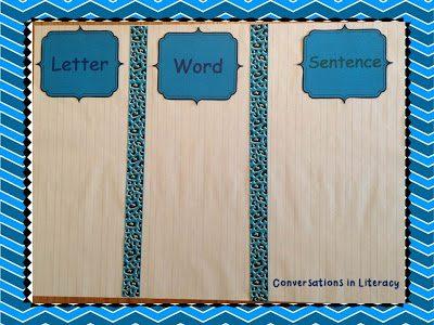 Letter, Words, & Sentences