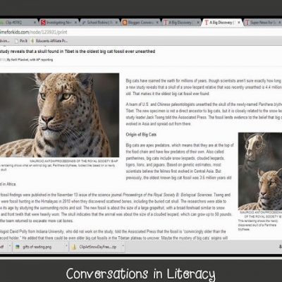 Informational Text Resource