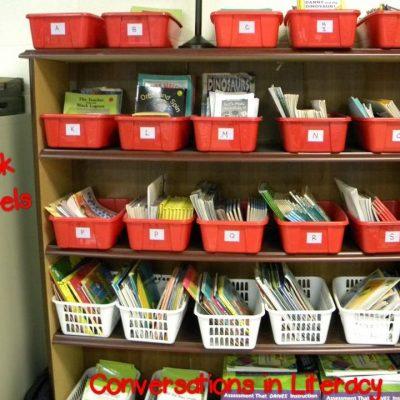 Book Leveling & Reading Correlation Charts