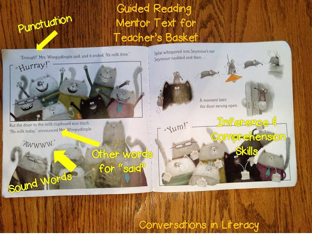 mentor texts for in your guided reading teacher's basket