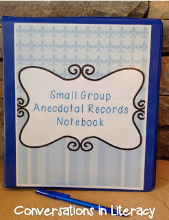 anecdotal records notebooks