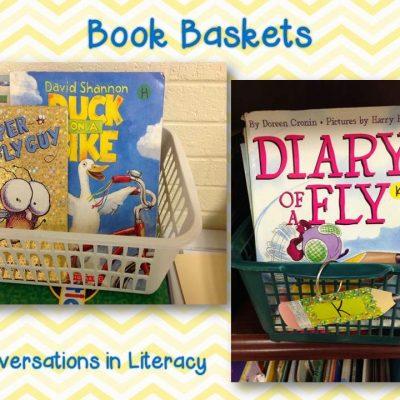Wordless Wednesday- Book Baskets
