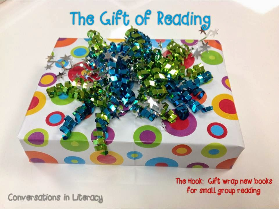 wrap books up as a gift for gift of reading