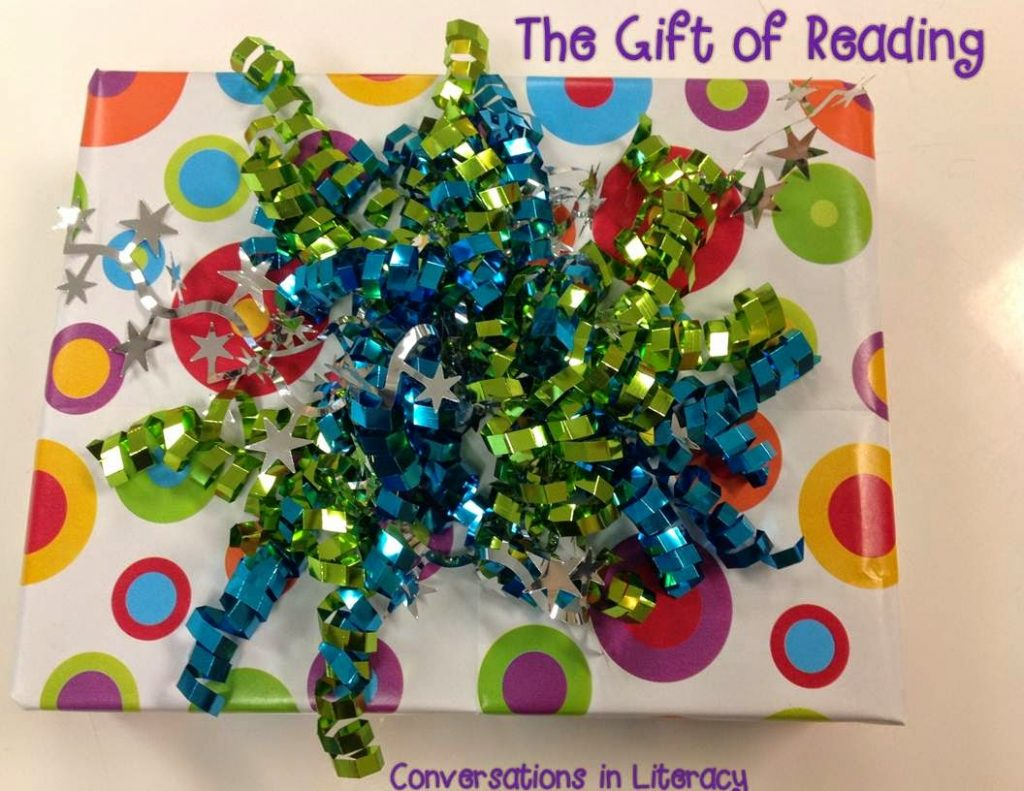 wrap books like a gift