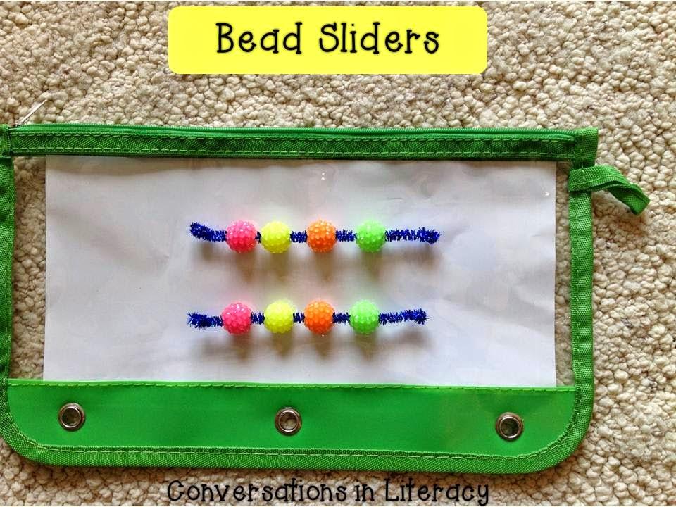 bead sliders for phonemic awareness