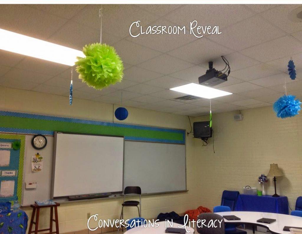 classroom reveal