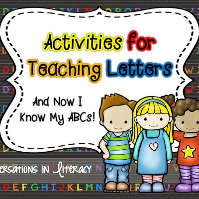 And Now I Know My ABCs!  Freebie too!
