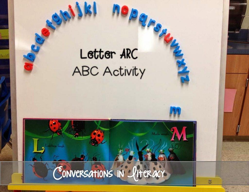 Letter Arc Activity
