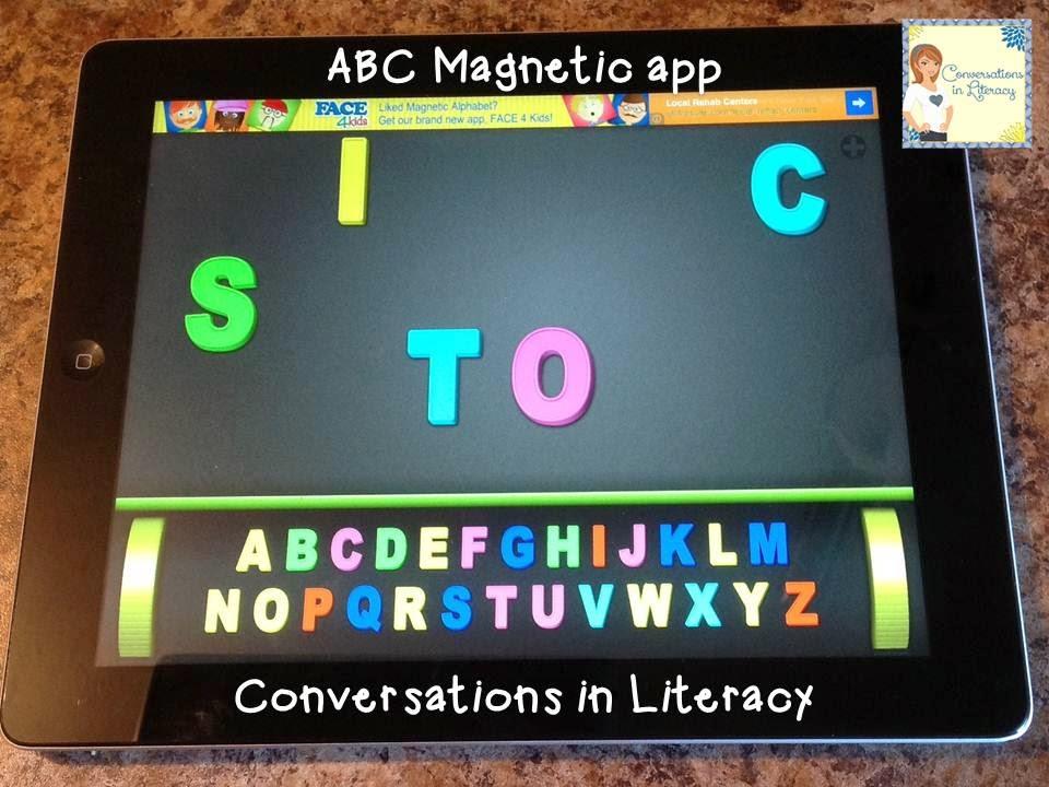 ABC Magnetic iPad app