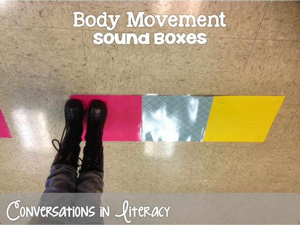Moving in Sound Boxes to segment words