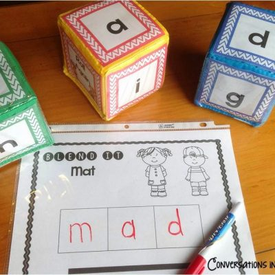 Short Vowel Activities & RTI Visual Plans