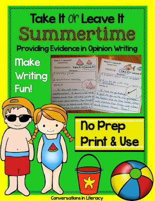 Practice Providing Evidence from the text in Writing