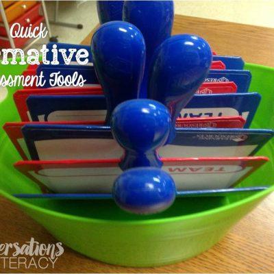Quick Formative Assessment Tools