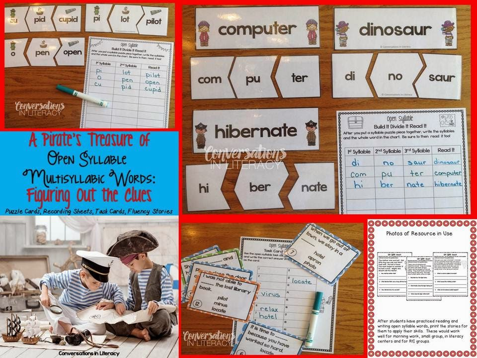 reading open syllable words to improve fluency