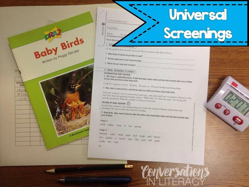 Using the DRA for Universal Screenings