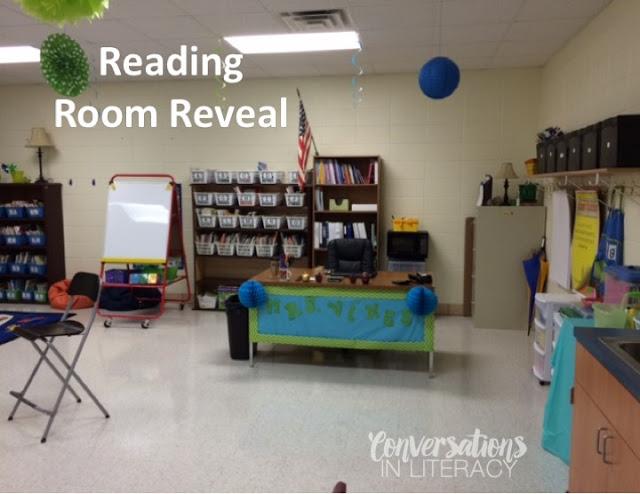 Reading Room Reveal
