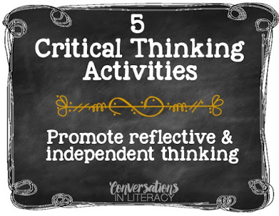 5 Critical Thinking Activities