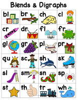 Blends and Digraphs Activities for RTI
