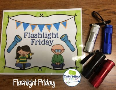 Flashlights, A Freebie, and A Peek at My Week