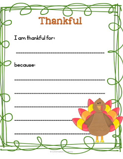 Thankful in the Classroom