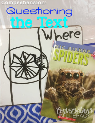 Questioning the Text activity and interactive read aloud