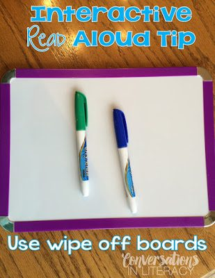 Interactive Read Aloud Tips