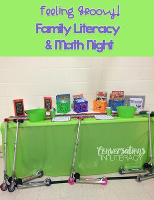 Feeling Groovy on Family Literacy Night!
