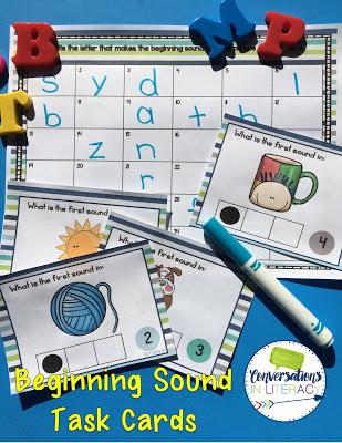 activities for beginning sounds