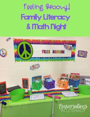 Family Literacy and Math Night Ideas
