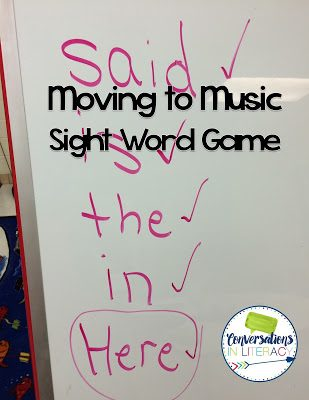 Sight Word Games for Active Learners