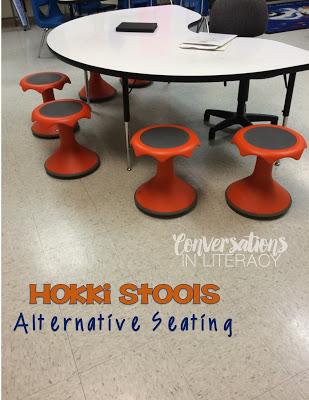 Alternative Seating Hokki Stools
