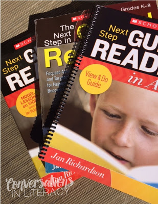 Teacher Resources for Summer PD Next Steps in Guided Reading