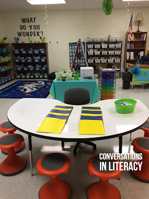 Welcome Back to School Flip Book and Reading Room Reveal