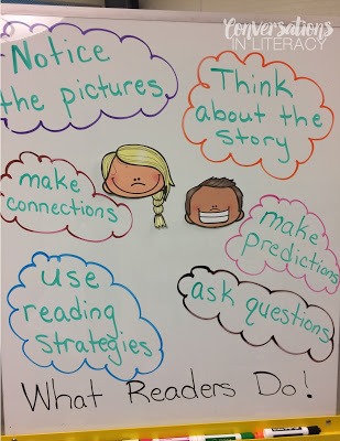 Using Anchor Charts for Guided Reading Expectations and Procedures