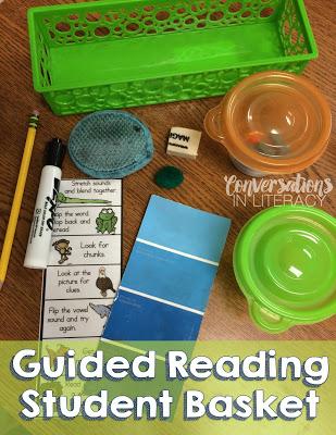 Organizing Word Work Materials