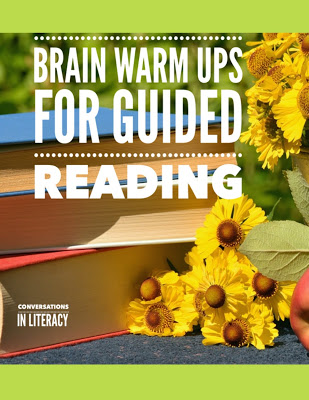 Brain Warm Ups for Guided Reading