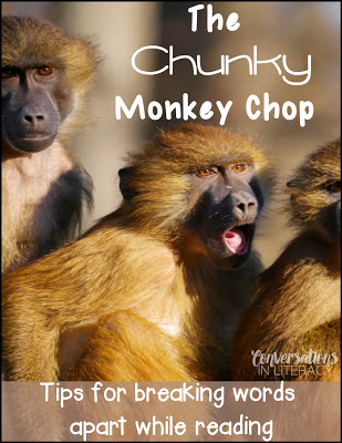 Using Reading Strategies to Break Words Chunky Monkey