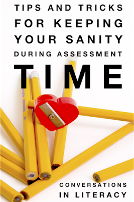 Keeping Your Sanity During Assessment Time!
