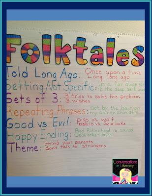 Folk Tale Anchor Chart